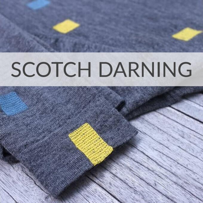Scotch Darning